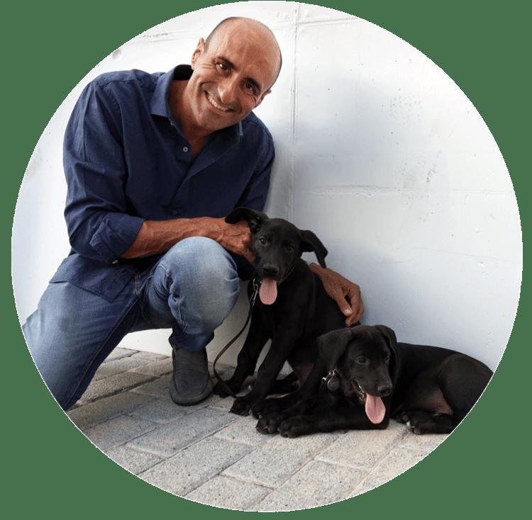 Buddy and Bello - José Arce Hunde Experte