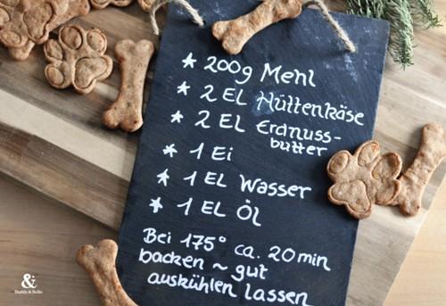 Buddy and Bello Weihnachtskekse für Hunde Rezept